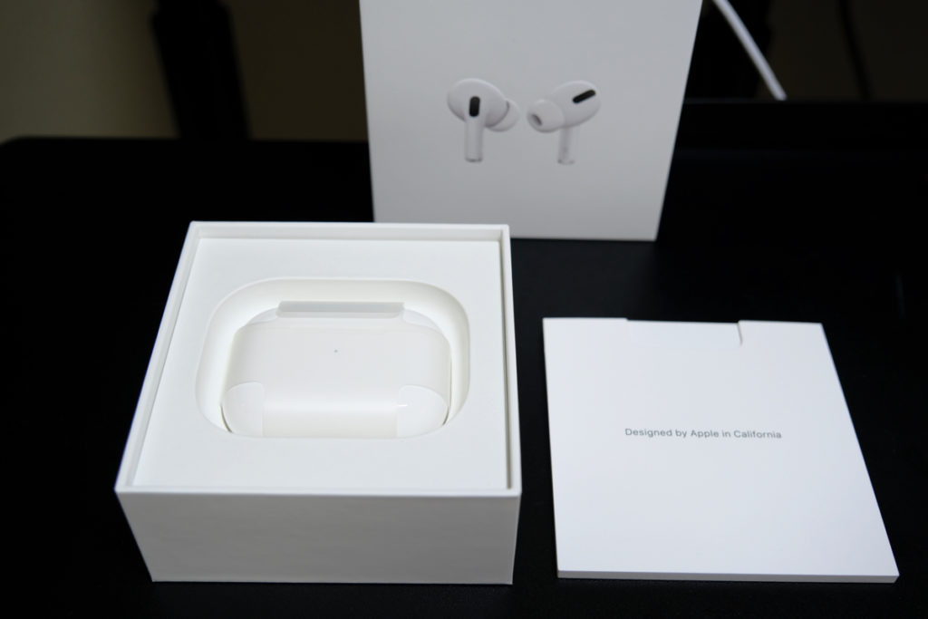 AirPods Pro開封